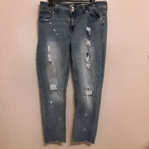 Seven jeans, Sz 14, ankle skinny
